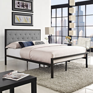 Modway Furniture Modern Mia Full Fabric Bed Frame MOD-5180-Minimal & Modern