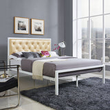 Modway Furniture Modern Mia Full Fabric Bed Frame , Beds - Modway Furniture, Minimal & Modern - 25