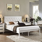 Modway Furniture Modern Mia Full Fabric Bed Frame , Beds - Modway Furniture, Minimal & Modern - 18