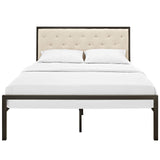 Modway Furniture Modern Mia Queen Fabric Bed Frame , Beds - Modway Furniture, Minimal & Modern - 3