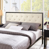 Modway Furniture Modern Mia Queen Fabric Bed Frame , Beds - Modway Furniture, Minimal & Modern - 6