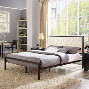 Modway Furniture Modern Mia Queen Fabric Bed Frame MOD-5182-Minimal & Modern