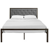 Modway Furniture Modern Mia Queen Fabric Bed Frame , Beds - Modway Furniture, Minimal & Modern - 10