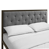 Modway Furniture Modern Mia Queen Fabric Bed Frame , Beds - Modway Furniture, Minimal & Modern - 11