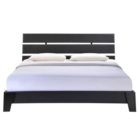 modway furniture modern zoe full vinyl bed frame beds modway furniture minimal