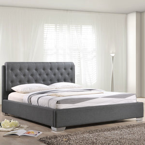 Modway Furniture Modern Amelia King Fabric Bed Frame MOD-5189-Minimal & Modern
