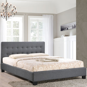Modway Furniture Modern Caitlin Full Fabric Bed Frame MOD-5193-Minimal & Modern