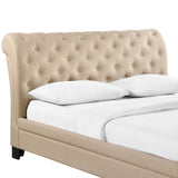 Modway Furniture Modern Kate Queen Fabric Bed Frame , Beds - Modway Furniture, Minimal & Modern - 2