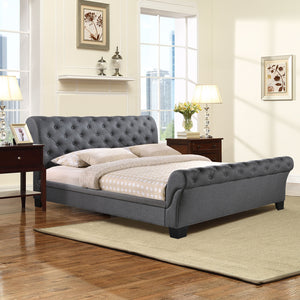 Modway Furniture Modern Kate Queen Fabric Bed Frame MOD-5201-Minimal & Modern