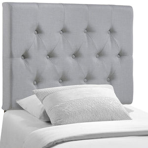 Modway Furniture Modern Clique Twin Headboard MOD-5205-IVO-Minimal & Modern