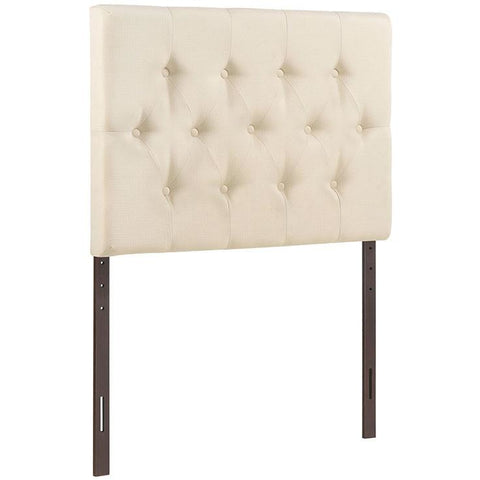 Modway Furniture Modern Clique Twin Headboard Ivory, Headboards - Modway Furniture, Minimal & Modern - 1