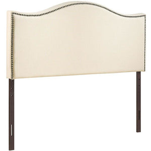 Modway Furniture Modern Curl Full Nailhead Upholstered Headboard MOD-5208-Minimal & Modern