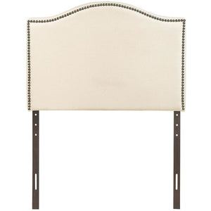 Modway Furniture Modern Curl Twin Nailhead Upholstered Headboard MOD-5209-Minimal & Modern