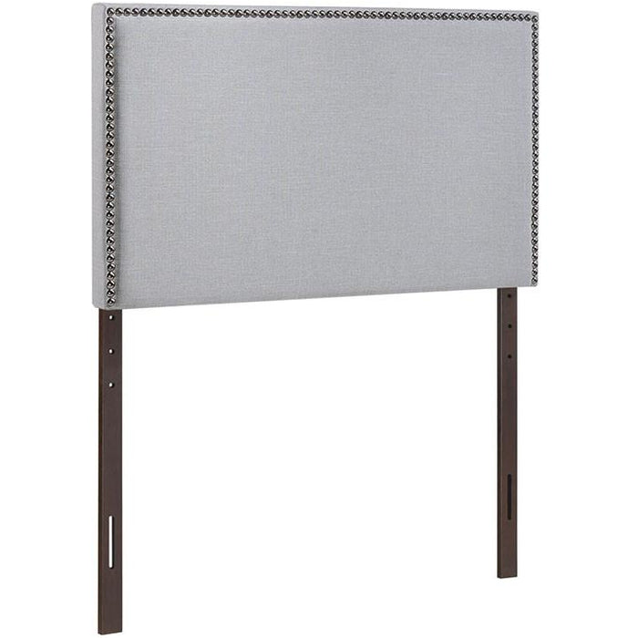 Modway Furniture Modern Region Twin Nailhead Upholstered Headboard , Headboards - Modway Furniture, Minimal & Modern - 1
