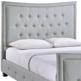 Modway Furniture Modern Claire Queen Bed Frame , Beds - Modway Furniture, Minimal & Modern - 8