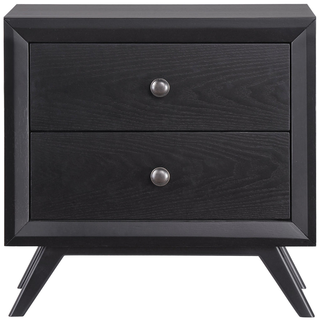 Modway Furniture Modern Tracy Nightstand Black, Nightstands and Dressers - Modway Furniture, Minimal & Modern - 2