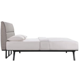 Modway Furniture Modern Addison 2 Piece Queen Bedroom Set MOD-5262-Minimal & Modern