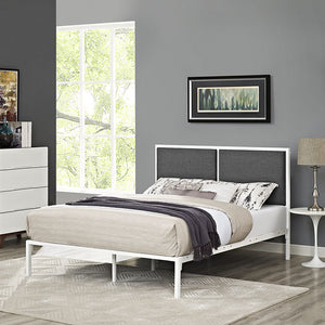 Modway Furniture Della King Fabric Bed - MOD-5463-Minimal & Modern
