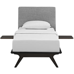 Modway Furniture Modern Tracy 3 Piece Twin Bedroom Set MOD-5484-Minimal & Modern