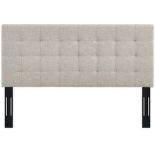 Modway Furniture Modern Paisley Tufted Twin Upholstered Linen Fabric Headboard - MOD-5846