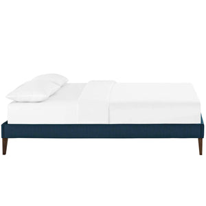 Modway Furniture Modern Tessie Full Fabric Bed Frame with Squared Tapered Legs - MOD-5897