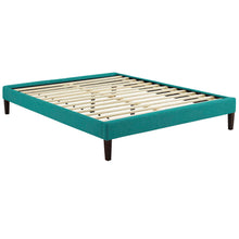 Modway Furniture Modern Tessie Queen Fabric Bed Frame with Squared Tapered Legs - MOD-5899