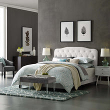 Modway Furniture Modern Amelia Full Faux Leather Bed - MOD-5991