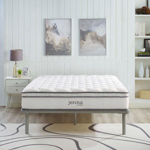 "Modway Furniture Modern Jenna 10"" California King Innerspring Mattress - MOD-6080"
