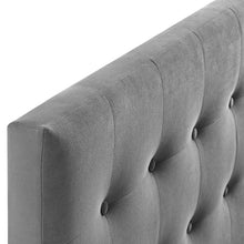 Modway Furniture Modern Emily King Biscuit Tufted Performance Velvet Headboard - MOD-6117
