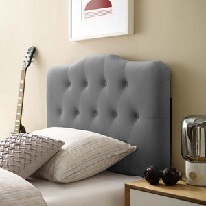 Modway Furniture Modern Annabel Twin Diamond Tufted Performance Velvet Headboard - MOD-6126