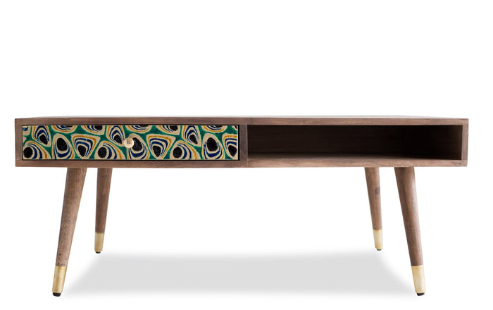 Edloe Finch Quinn Coffee Table, Peacock - EF-Z5-CT006P
