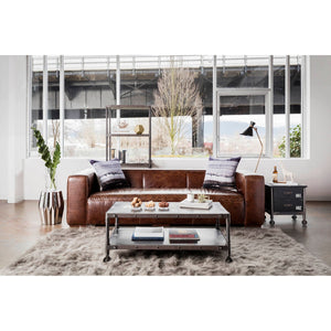 MOE'S HOME COLLECTION BOLTON SOFA BROWN - PK-1008-20-Minimal & Modern