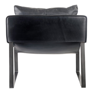 Moe's Home Collection Connor Club Chair Black - PK-1044-02