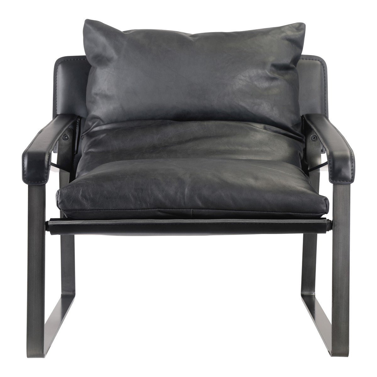 Moe's Home Collection Connor Club Chair Black - PK-1044-02 - Moe's Home Collection - lounge chairs - Minimal And Modern - 1