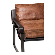 Moe's Home Collection Connor Club Chair - Brown - PK-1044-14