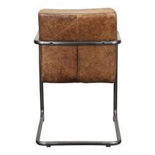 Moe's Home Collection Ansel Arm Chair Light Brown-Set of Two - PK-1052-03