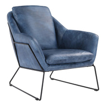 Moe's Home Collection Greer Club Chair Blue - PK-1056-19
