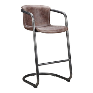 Moe's Home Collection Freeman Barstool Light Brown-Set of Two - PK-1060-03