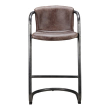 Moe's Home Collection Freeman Barstool Light Brown-Set of Two - PK-1060-03 - Moe's Home Collection - Bar Stools - Minimal And Modern - 1