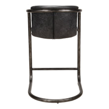 Moe's Home Collection Freeman Counter Stool Antique Black-Set of Two - PK-1061-02