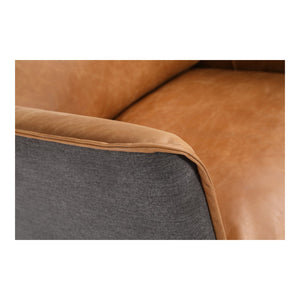 Moe's Home Collection Messina Leather Arm Chair Cognac - PK-1096-23