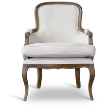 Baxton Studio Napoleon Traditional French Accent Chair-Ash Baxton Studio-chairs-Minimal And Modern - 2