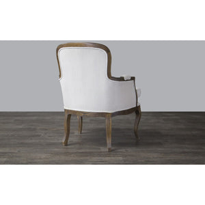 Baxton Studio Napoleon Traditional French Accent Chair-Ash Baxton Studio-chairs-Minimal And Modern - 5