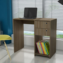Manhattan Comfort Practical Pascara Work Desk with 2-Drawers and 1 Cubby-Minimal & Modern