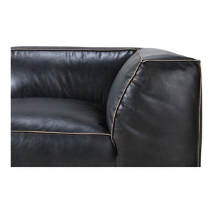 Moe's Home Collection Luxe Corner Chair Antique Black - QN-1021-01