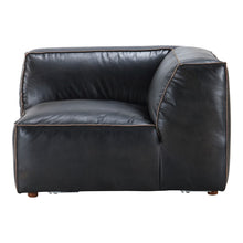 Moe's Home Collection Luxe Corner Chair Antique Black - QN-1021-01 - Moe's Home Collection - Corner Chairs - Minimal And Modern - 1