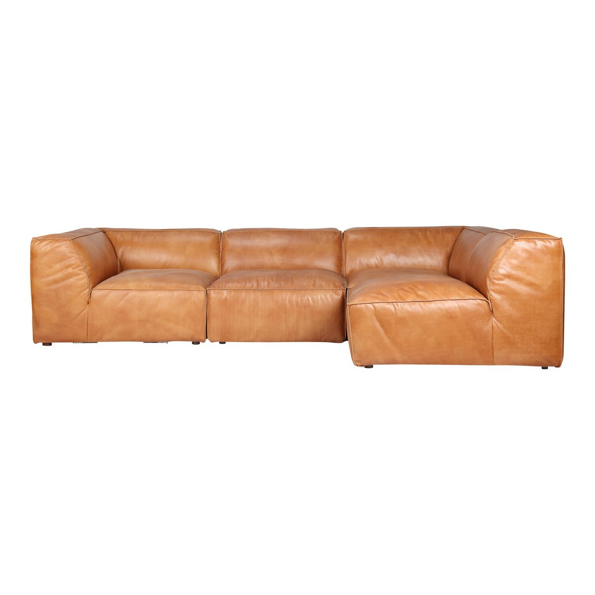 Moe's Home Collection Luxe Signature Modular Sectional Tan - QN-1022-40 - Moe's Home Collection - Extras - Minimal And Modern - 1