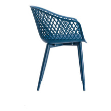 Moe's Home Collection Piazza Outdoor Chair Blue-Set of Two - QX-1001-26