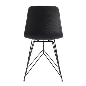 Moe's Home Collection Esterno Outdoor Chair Black-Set of Two - QX-1002-02