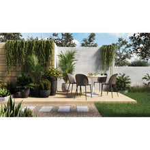 Moe's Home Collection Giardino Outdoor Dining Chair-Set of Two - QX-1005-15 - Moe's Home Collection - Dining Chairs - Minimal And Modern - 1